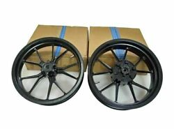 Ktm Fit For Rc 390 Racing Bike Front And Rear Wheel Rim Black 2013 To 2016