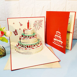 500x Pop Up Childrenand039s Day Card 3d Kids Mom Dad Happy Birthday Greeting Cards