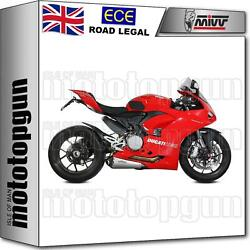 Mivv Exhaust Hom Delta Race Stainless Steel Cc Ducati Panigale V2 2021 21