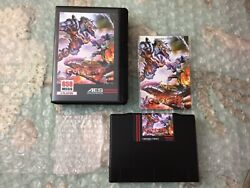 Gunlord Cib W/game Manual Case U.s. Ng Dev 2nd Print For The Neo-geo Aes