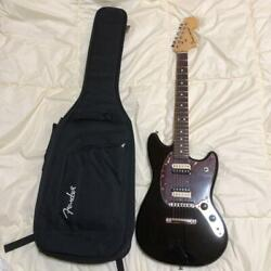 Fender Usa American Special Mustang Blk With Gig Case Ships Safely From Japan