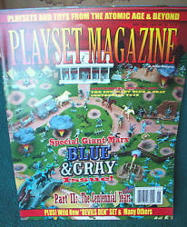 Playset Magazine 38 Special Marx And T.cohn Civil War, Blue And Gray Issue