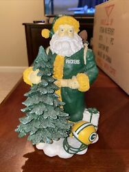 Green Bay Packers Santa Nfl First In A Limited Series Memory Company Glue Fix