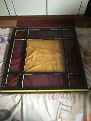 Antique Stained Glass Window-church Window Glass