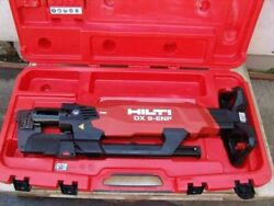 Hilti Dx 9-hsn Digital High-productivity Nailer With Case Powder Actuated  8