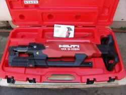 Hilti Dx 9-hsn Digital High-productivity Nailer With Case Powder Actuated  9