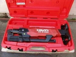 Hilti Dx 9-hsn Digital High-productivity Nailer With Case Powder Actuated  7