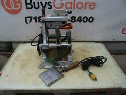 Mcelroy 14 Pipe Fusion Machine Heater Facer Works Fine 25
