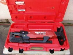 Hilti Dx 9-hsn Digital High-productivity Nailer With Case Powder Actuated  6