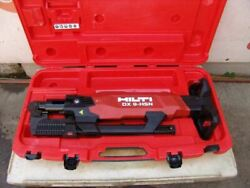 Hilti Dx 9-hsn Digital High-productivity Nailer With Case Powder Actuated  2