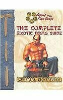 L5r Complete Exotic Arms Guide Legend Of Five Rings Role By Seth Mason