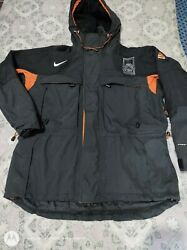 Vintage Nike Acg 1998 Winter Games Cbs Reporter Jacket All Conditions Gear Sz M