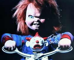 Brad Dourif Autographed Child's Play 8x10 Photo - Chucky Charles Lee Ray