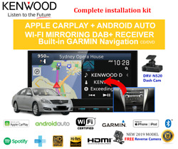 Kenwood Dnx9190dabs For Nissan Maxima 2009-2012 A34 Stereo Upgrade Kit