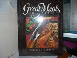 Turkey And Duck Menus Great Meals In Minutes By Time Life - Hardcover New