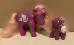My Little Pony G1 Beachy Keen And Mommy Hasbro Mail Order Mlp Vintage Rare
