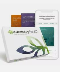 Ancestry Health Dna Activation Kit Sealed. Discontinued