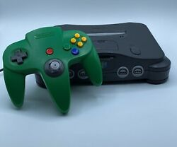 Nintendo 64 N64 Controller Bundle Console Authentic 1996 Tested Works Controller
