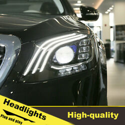 16-20 Led Turn Signal Dynamic Headlights Assembly For Benz W213 One Set.