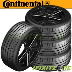 4 Continental Extremecontact Sport Summer High Performance 285/35zr20 100y Tires