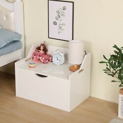Lift Top Entryway Storage Chest/bench Wooden Toy Box Kids' Storage Chests Trunk