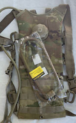 Us Military Molle Ii Ocp Multicam Hydration System Pouch Carrier With Bladder