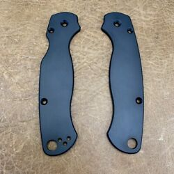 Spyderco Paramilitary 2 Scales Cnc Milled Black Pvd Coated Titanium Scales