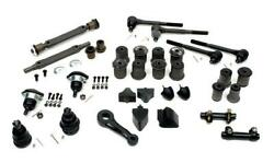 El Camino Suspension Kit Front And Rear With Round Lower Front A-arm Bushing