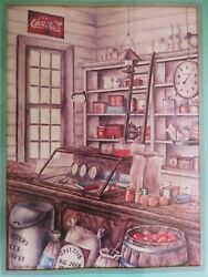 🚨coca Cola Advertising Framed Print Kay Lamb Shannon Old General Country Store