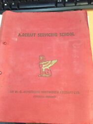 Armstrong Whitworth Servicing School Notes Aw660 Argosy Engine Installation
