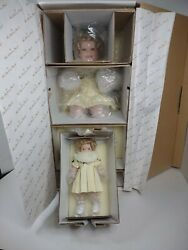 Vintage Shirley Temple Shirley And Her Doll Danbury Mint Porcelain Doll Nib