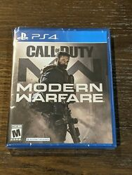 Call Of Duty Modern Warfare - Sony Playstation 4 Ps4 2019 Brand New Never Open