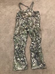 Sitka Stratus Bibs- Ev1elevated Forest - Large Tall Nice Free Shipping