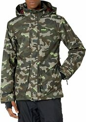 Volcom Mens Anders 2-layer Tds Shell Snow Jacket