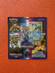 Pokemon Diamond And Pearl And Ex Crystal Guardians 3 Pack Blister Packs Sealed