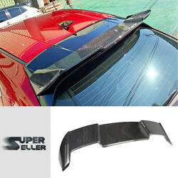 Carbon Fit For Mazda3 Mazda 3 4th Bp Hatchback Rear Roof Spoiler Dto Type