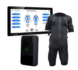 Ems Fitness Muscle Stimulator Wireless Workout Full Body Training Suit Slimming