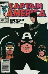 Captain America 290 Comics 1st Appearance Of Mother Superior Sin Newsstand Cover