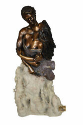 Passion, Bronze Statue From The Vidal Collection – Coa Included 7 X 10 X 20