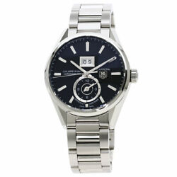 Tag Heuer Carrera Grand Date Gmt Caliber 8 Watches War5010 Stainless Steel/s...