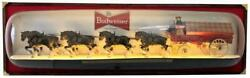 Huge Budweiser Beer World Champion Clydesdale Team Lighted Bar Display Wall Sign