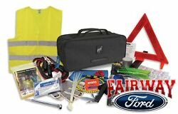 2021 Bronco Sport Ford On Road First Aid And Road Assistant Kit With Bronco Logo