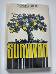 Survivor By Octavia E. Butler Rare First Edition 1st Printing 1978 Out Of Print