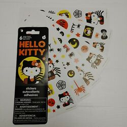 HELLO KITTY Stickers 6 Unique Sheets Halloween Themed
