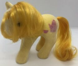 Vintage My Little Pony G1 So Soft Ponies Crumpet Rare Great Condition