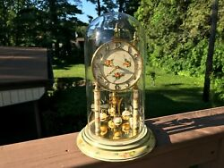 Vintage Welby 400 Day Anniversary Clock - Germany - Working Beautifully