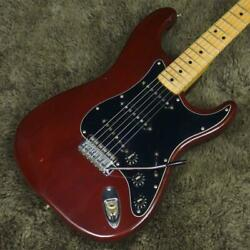 Fender 1979 Stratocaster Wine Red Maple Fingerboard Used Electric Guitar