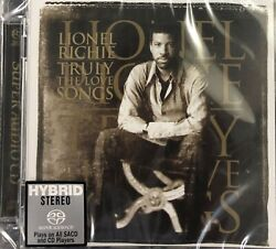 Lionel Richie - Truly The Love Songs Sacd Made In Japan