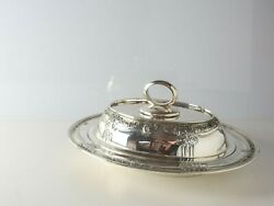 Barbour Intand039l Silver Louis Nouveau Sterling Silver Covered Entree Serving Dish