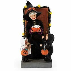 Department 56 Possible Dreams Boo Halloween Mrs. Claus Trick-or-treaters 6006454